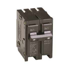 Cutler-Hammer BR230 Circuit Breaker, Miniature, Type BR, 30 A, 2-Pole, 120/240 V, Thermal Magnetic Trip
