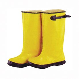 Diamondback Simple Spaces RB001-12-C Over Shoe Boots, 12, C W, Yellow, Rubber Upper