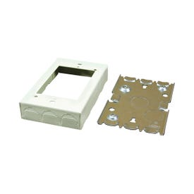 Legrand Wiremold B2 Outlet Box, Ivory