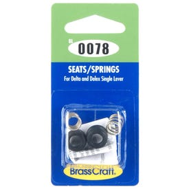BrassCraft SL0078 Seat and Spring Repair Kit, Rubber/Stainless Steel