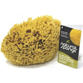 The Natural SW#1-6070C Seawool Sponge, 6 to 7 in L, Gold