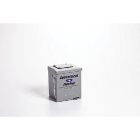 CONNECTICUT ELECTRIC PS-54-HR RV/EV Power Outlet, 50 A, Steel