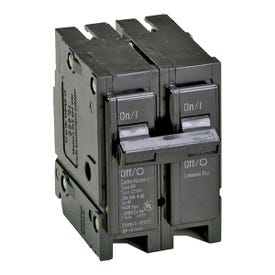 Cutler-Hammer BR260 Circuit Breaker, Miniature, Type BR, 60 A, 2-Pole, 120/240 V, Thermal Magnetic Trip