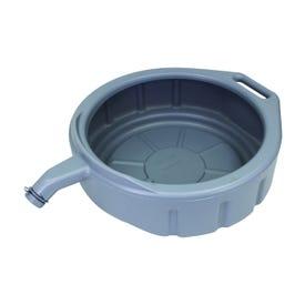 FloTool Super-Duty 11845 Oil Drain Pan, 5 gal Capacity, Polyethylene