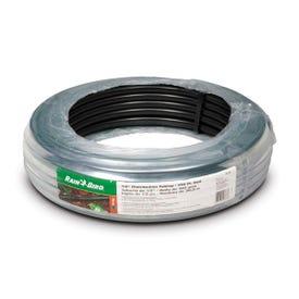 Rain Bird T63-100S Blank Distribution Tubing, 0.54 in ID, 100 ft L, Plastic, Black