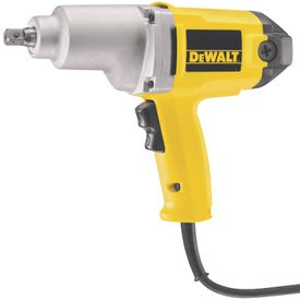 DeWALT DW292 Impact Wrench with Detent Pin Anvil, 120 V, 1/2 in Drive, Square Drive, 345 ft-lb, 2100 rpm Speed