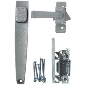 Wright Products V398 Pushbutton Latch, 3/4 to 1-1/4 in Thick Door, For: Out-Swinging Wood/Metal Screen, Storm Doors