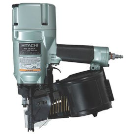 HITACHI NV83A4 Framing Nailer, 200 to 300 Magazine, 16 deg Collation, Wire Weld Collation, 0.088 cu-ft/Cycle Air