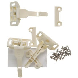 Safety 1st 48447 Cabinet and Drawer Latch, Plastic, White