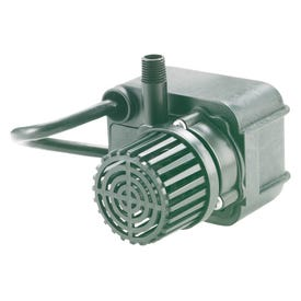 Little Giant 566608 Direct Drive Pump, 0.6 A, 115 V, 1/4 in Connection, 1 ft Max Head, 170 gph