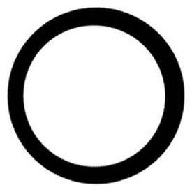 Pentair OMNIFilter OK25-DC6-S18 Filter Housing O-Ring, Rubber, Black, For: U25 Omni Whole House Water Filters