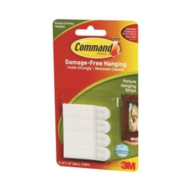 Command 17202 Picture Hanging Strips, 1 lb, Paper