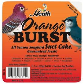 HEATH DD-14 All-Season Suet Cake, 11.25 oz