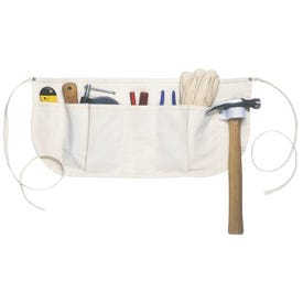 CLC Tool Works C12 Waist Apron, 29 to 50 in Waist, Cotton, Off-White, 5 -Pocket