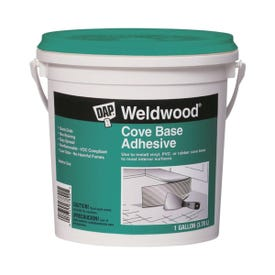 DAP 25054 Construction Adhesive, Off-White, 1 gal Can