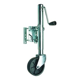 REESE Towpower 74410 Trailer Jack, 1000 lb Lifting, 9.95 to 22.7 in H Max Lift, 23-1/5 in OAH, Steel