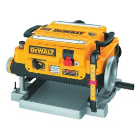 DeWALT DW735 Thickness Planer with Three Cutter, 120 V, 15 A, 2 hp, 13 in W Planning, 1/8 in D Planning
