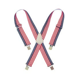 CLC Tool Works 110USA Work Suspender, Elastic, Blue/Red/White