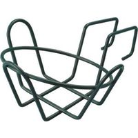 Landscapers Select GB-4326 Round Planter Holder with Hanger, Steel, Black, Powder coated