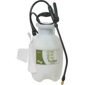 CHAPIN SureSpray 27010 Compression Sprayer, 1 gal Tank, Poly Tank, 34 in L Hose