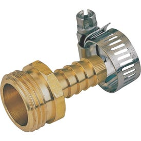 Landscapers Select GB934M3L Hose Coupling, 1/2 in, Male, Brass, Brass