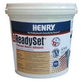 HENRY 12255 Mastic Adhesive, Off-White, 1 qt Container