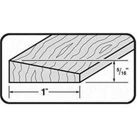 M-D 85548 Floor Edge Reducer, 72 in L, 1-3/4 in W, Hardwood, Unfinished