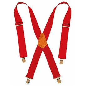 CLC Tool Works 110RED Work Suspender, Nylon, Red