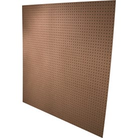 ALEXANDRIA Moulding PG002-6H048C Standard Perforated Hardboard, 4 ft OAW, 4 ft OAH, Plywood