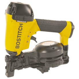 Bostitch RN46-1 Coil Roofing Nailer, 1/4 in Air Inlet, 120 Magazine, Nail Fastener