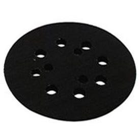 Makita 743081-8 Backing Pad with Hook and Loop Attachment, 5 in Dia, Rubber