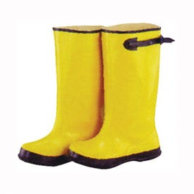 Diamondback Simple Spaces RB001-11-C Over Shoe Boots, 11, C W, Yellow, Rubber Upper