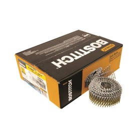 Bostitch C5R80BDG Siding Nail, 1-3/4 in L, 14 Gauge, Steel, Thickcoat, Round Head, Ring Shank