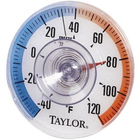 TAYLOR 5321N Thermometer, -40 to 120 deg F