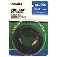 ARNOLD GL-024 Fuel Line, Low Permeation, Black, For: Walk Behind Mowers and Lawn Tractors