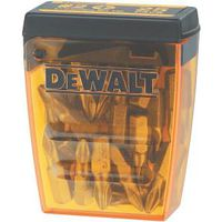 DeWALT DW2002B25 Insert Bit Tip, #2 Drive, Phillips Drive, 1/4 in Shank, Hex Shank, Steel