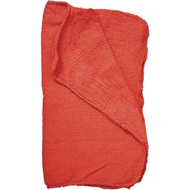 SM ARNOLD SELECT 85-765 Shop Towel, Red, 14 in