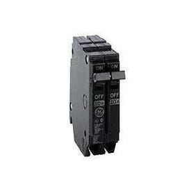 GE Industrial Solutions THQP240 Feeder Circuit Breaker, Type THQP, 40 A, 2-Pole, 120/240 V, Plug-In Mounting