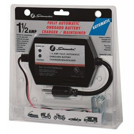 Schumacher SE-1-12S Battery Charger/Maintainer, 6/12 VDC Output, AGM Battery, 1-Battery
