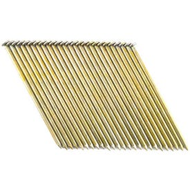 Bostitch S16D131GAL-FH Framing Nail, 3-1/2 in L, Thickcoat, Full Round Head, Smooth Shank