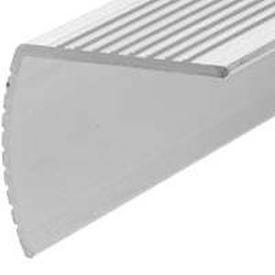 Frost King H4128FS6 Stair Edging, 72 in L, 1-1/8 in W, Aluminum, Satin