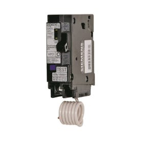 Siemens QA120AFC Circuit Breaker, Arc-Fault, Combination, 20 A, 1-Pole, 120/240 V, Fixed Trip, Plug-In Mounting