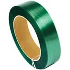 TransTech Signode TPS2X2011 Strapping Coil, 4200 ft L, 5/8 in W, Polyester, Green