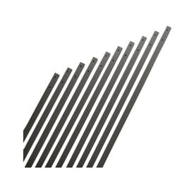 Maine Ornamental 74733 Traditional Baluster, 32 in L, Aluminum, Black, Powder-Coated