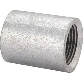 ProSource PPGSC-15 Galvanized Merchant Coupling, 1/2 in, Threaded