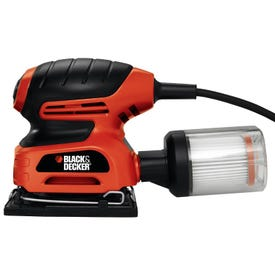 Black+Decker BDEQS300/QS900 Orbital Sander with Paddle Switch Actuation, 2 A