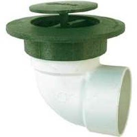 NDS 422G Drain Emitter With Elbow and UV Inhibitor, Pop-Up, Polyethylene