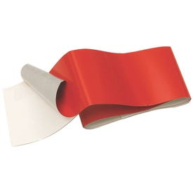 HY-KO TAPE-4 Self-Adhesive Reflective Safety Tape, 24 in L, 2 in W, Red