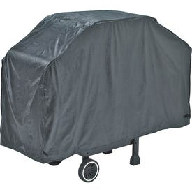 GrillPro 50057 Grill Cover, 21 in W, 40 in H, Vinyl, Black
