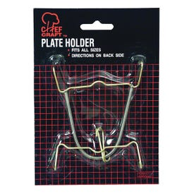 CHEF CRAFT 20031 Plate Holder, For: Both Oval, Round Plates